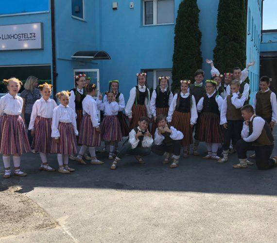 Zespół taneczny Jumitis gościem Luxhostel24